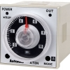 Autonics ANALOG Timer AT8N [Multi-Function timer] 0.05 วินาที to 100 ชั่วโมง