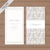 การ์ดแต่งงาน Wedding card สไตล์การออกแบบดีไซน์แบบใช้สีอ่อนๆและตัดด้วยลายเส้นสีขาวดูอ่อนหวานน่ารัก การ์ดงานแต่ง ไว้สำหรับ เรียนเชิญแขกผู้มีเกียรติเข้ามาร่วมงานแต่งงาน // ตัวอย่างดีไซน์ การ์ดแต่งงาน การ์ดเชิญ การ์ดสวยๆ