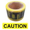 """เทปกั้นเขต สีเหลือง Print """"Caution"""" กว้าง 7 ซม. ( 3 นิ้ว ) ยาว 50 เมตร ไม่มีกาว"""