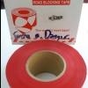 """เทปกั้นเขต เทปยูโร สีแดง Print """" DANGER DO NOT ENTER """" กว้าง 7.5 ซม. (3นิ้ว) ยาว (500 เมตร)"""