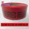 เทปฝังใต้ดิน สีแดง ตัวอักษรสีดำ CAUTION ELECTRIC LINE BURIED BELOW กว้าง 75 mm. (3 in.) x ยาว 305 เมตร