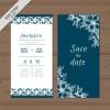 การ์ดแต่งงาน Wedding card สไตล์การออกแบบดีไซน์แบบใช้สีขาวตัดกับสีน้ำเงินเพิ่มความเข้มและมีสีสันสวยงาม การ์ดงานแต่ง ไว้สำหรับ เรียนเชิญแขกผู้มีเกียรติเข้ามาร่วมงานแต่งงาน // ตัวอย่างดีไซน์ การ์ดแต่งงาน การ์ดเชิญ การ์ดสวยๆ