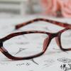 แว่นตาแฟชั่นเกาหลี สีน้ำตาลเสือดาว (พร้อมเลนส์)