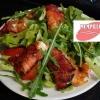 สลัดปลาแซลมอนย่าง เมนูอาหารสำหรับคนท้อง มื้อค่ำ
