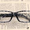 แว่นตาแฟชั่นเกาหลี สีเทาเสือดาว (ไม่มีเลนส์)