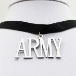 สร้อยคอ โช๊คเกอร์ BTS ARMY