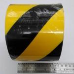 Kingwahk เทปกาว ตีเส้น สีเหลือง - ดำ กว้าง 4 นิ้ว ยาว 33 เมตร