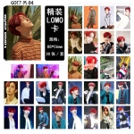 LOMO CARD MARK GOT7 7 FOR 7 - 30รูป