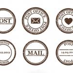 ฉลากป้ายติดพัสดุไปรษณีย์ สไตล์การออกแบบดีไซน์แบบเรียบๆแต่มีสไตล์ ฉลากไว้ใช้แปะกับกล่องพัสดุ,สำหรับส่งพัสดุไปต่างประเทศ // ตัวอย่างดีไซน์ สติ๊กเกอร์ฉลาก Chill Shop Package