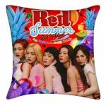 หมอนลายหน้า-หลัง Red Velvet The Red Summer