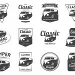ฉลากสำหรับธุรกิจคุณ สไตล์การออกแบบดีไซน์แบบเรียบๆแต่มีสไตล์ ฉลากไว้ใช้เกี่ยวกับธุรกิจรถโฟล์ค,สติ๊กเกอร์แปะรถ // ตัวอย่างดีไซน์ สติ๊กเกอร์ฉลาก Chill Shop Package