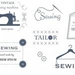ฉลากเสื้อผ้าแฟชั่น สไตล์การออกแบบดีไซน์แบบเรียบๆแต่มีสไตล์ ฉลากไว้ใช้กับโลโก้ร้านเสื้อผ้า // ตัวอย่างดีไซน์ สติ๊กเกอร์ฉลาก Chill Shop Package