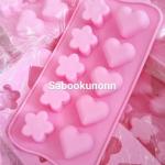 พิมพ์ดอกไม้หัวใจ 10ช่อง 15g***