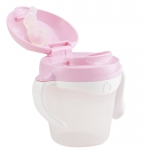 KK-13 ถ้วยหัดดื่ม Kido Drink Cup Step 2 (8 เดือน+) สีชมพู