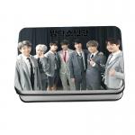 LOMO CARD +กล่องเหล็ก BTS 4th MUSTER Happy