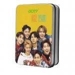 LOMO CARD+กล่องเหล็ก GOT7 Eyes On You 30รูป