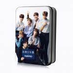 LOMO CARD +กล่องเหล็ก BTS NONNO