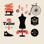 ฉลากเสื้อผ้าแฟชั่น สไตล์การออกแบบดีไซน์แบบใช้สีสันที่สดุดตาสวยงาม ฉลากไว้ใช้แปะกับแพคเกจเกี่ยวกับเสื้อผ้า // ตัวอย่างดีไซน์ สติ๊กเกอร์ฉลาก Chill Shop Package