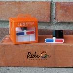 ไฟท้าย Tail Light LED - สี่เหลี่ยม ไฟแดง+น้ำเงิน