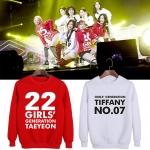 เสื้อแขนยาว Girls Generation holiday night (ระบุไซส์ แบบ)