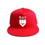 หมวก B.A.P. สีแดง
