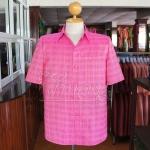 เสื้อสูทผ้าฝ้ายลายก้านมะลิ ไซส์ M