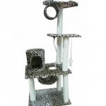 MU0097 คอนโดแมวสี่ชั้น ต้นไม้แมว ของเล่นแขวน อุโมงค์บ้าน สูง 175 CM