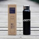 ขวดน้ำอุ่น สีดำ GOT7