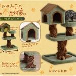 ต้นไม้แมว บ้านแมวรูปทรงต้นไม้ขนาดใหญ่ นอนสบาย นำเข้าจากญี่ปุ่น สูง 104 cm