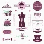 ฉลากเสื้อผ้าแฟชั่น สไตล์การออกแบบดีไซน์แบบใช้สีสันที่ดูหรูหรา ฉลากไว้ใช้แปะกับแพคเกจเกี่ยวกับเสื้อผ้า // ตัวอย่างดีไซน์ สติ๊กเกอร์ฉลาก Chill Shop Package