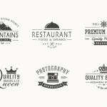 ฉลากป้ายประชาสัมพันธ์ สไตล์การออกแบบดีไซน์แบบเรียบๆแต่มีสไตล์ ฉลากไว้ใช้แปะกับสินค้าเกี่ยวกับธุรกิจร้านอาหาร // ตัวอย่างดีไซน์ สติ๊กเกอร์ฉลาก Chill Shop Package