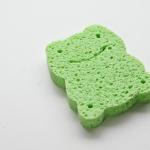 Ange Natural Cellulose Sponge ฟองน้ำธรรมชาติจากใยพืช (กบ เขียว)