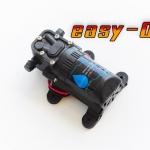 ปั๊ม EASY- 01 แรงดันต่ำ 12VDC 25W 4.8 บาร์ ( สำหรับดูดน้ำ/พ่นหมอกหัวเนต้าฟิล์ม 5-10หัว )