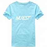 เสื้อยืด NU'EST สีฟ้า