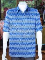 เสื้อสูทผ้าฝ้ายลายมัดหมี่สุโขทัย ไซส์ S