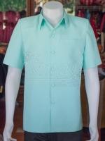 เสื้อสูทผ้าฝ้ายผสม ไซส์ 3XL