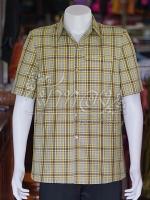 เสื้อสูทผ้าฝ้ายทอลายสก็อต ไซส์ XL