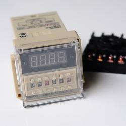 เครื่องตั้งเวลาสลับ ปิด-เปิด เลือกได้ตั้งแต่ 0.1 วินาที-99 ชั่วโมง 24VDC