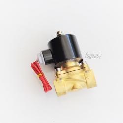 """โซลินอยด์วาล์วทองเหลือง N/C 220V AC 3/4"""""""