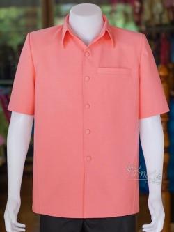 เสื้อสูทไหมแพรเงิน ไซส์ 3XL