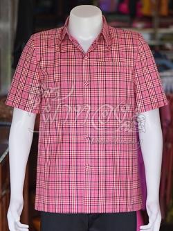 เสื้อสูทผ้าฝ้ายทอลายสก็อต ไซส์ M