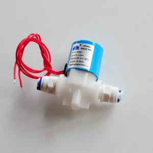 Solenoid valve 24 VDC พร้อม ข้อต่อ 2 หุน 2 ตัว