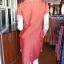 ชุดเสื้อกระโปรงผ้าฝ้ายสุโขทัยแต่งดอกกุหลาบ ไซส์ XL thumbnail 3