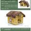 บ้านหมาแมว มีเบาะนุ่มข้างใน เหมาะสำหรับหน้าหนาว เนื้อผ้านุ่มสบาย thumbnail 7