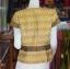 เสื้อผ้าทอลายมัดหมี่สุโขทัย อัดผ้ากาว ไซส์ XL thumbnail 3
