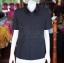 เสื้อสูทผ้าฝ้ายผสม สีดำ ไซส์ XL thumbnail 1
