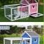บ้านส่วนตัวของสัตว์เลี้ยงlสำเร็จรูป ชั้นเดียว มีระเบียงและบริเวณส่วนหน้าบ้าน thumbnail 11