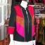 เสื้อคลุมผ้าฝ้ายสุโขทัยคอจีน ไซส์ M thumbnail 2