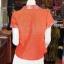 เสื้อผ้าฝ้ายสุโขทัยแต่งผ้าทอลายหมากรุก อัดผ้ากาว ไซส์ M thumbnail 3