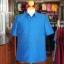 เสื้อสูทไหมผสมฝ้าย สีน้ำเงิน ไซส์ XL thumbnail 1